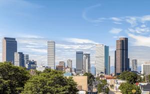 downtown Denver city skyline