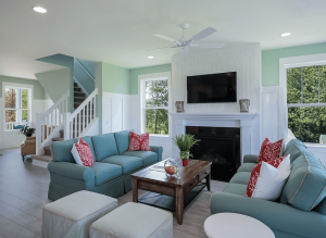 tips to keep your living room and family room clean