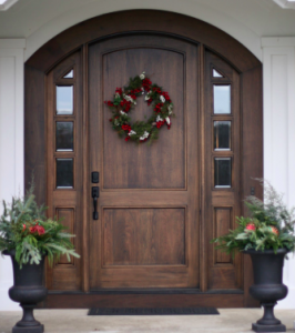 how to enhance the look of your home's front door