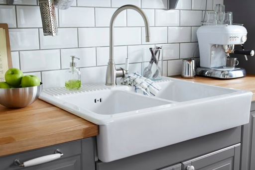 tips to clean different types of sinks