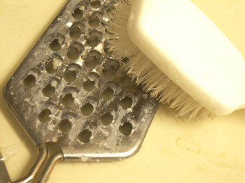 Tips For Cleaning A Cheese Grater